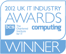 2012 UK IT Industry Awards - Winner